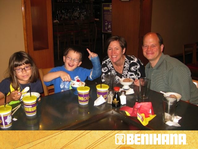 BeniHana Birthday Dinner