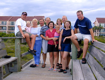 The annual Hoskins family vacation was in St. Augustine, Florida, this year. We missed last year's since Jill was due at the same time as teh trip. This time everyone […]